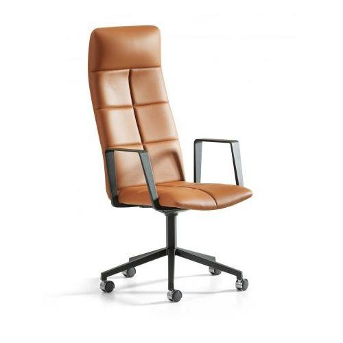Luxe Leren Bureaustoel.Leren Bureaustoel Echt Leder Luxe Zitten Bureaustoelwijzer